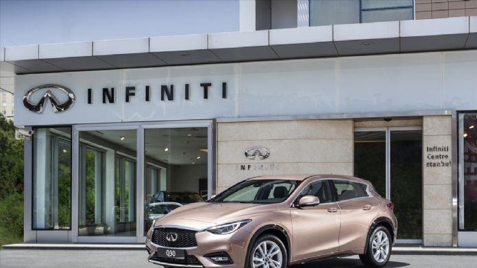 Infiniti'den 'Q30' tanıtımı