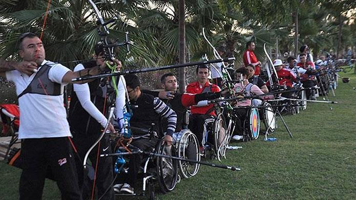 Engelli okçuların kota mücadelesi devam ediyor