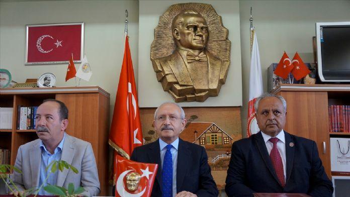 CHP Genel Başkanı Kılıçdaroğlu, Edirne'yi Ziyaret Yaptı