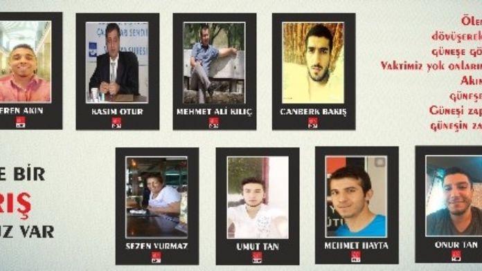 CHP Gençlik Kolları Başkanı Çalış, Ankara Saldırısında Ölenleri Andı
