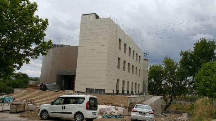 Çan Kültür Merkezi 2. Etap Yapım İşi Devam Ediyor