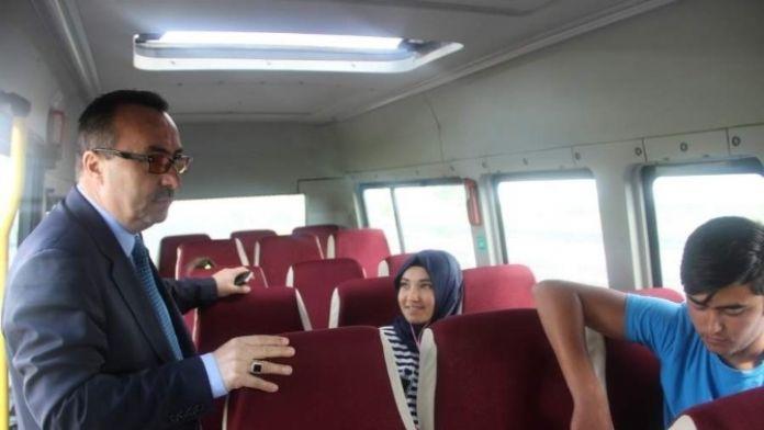 Gülşehir'de Okul Servisleri Denetlendi