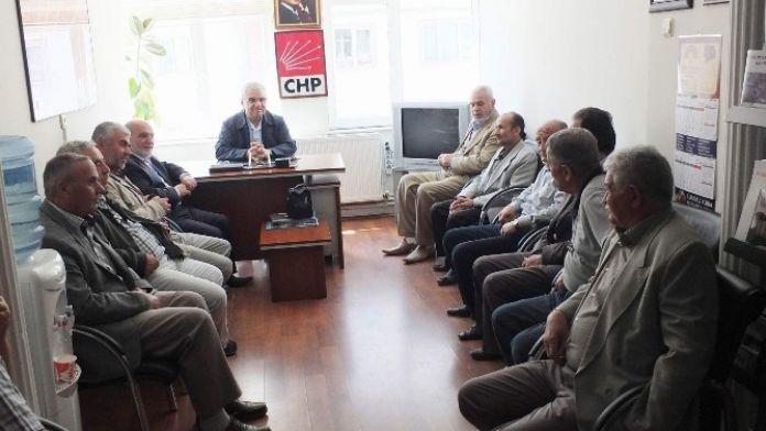 Saadet Partisi'nden, CHP'ye Ziyaret
