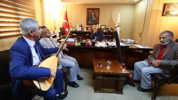 Karabağ 'Aşıkları' Ağırladı