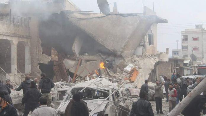 Rus uçakları sivillere fosfor bombası yağdırdı