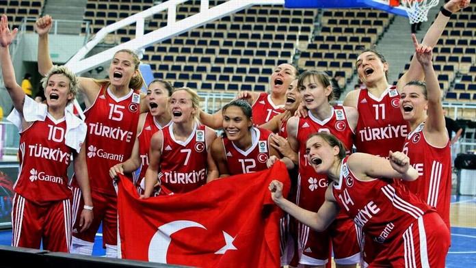 Kadın basketbolunda olimpiyat elemesi heyecanı