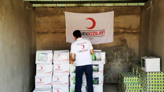 Kızılay'ın Irak'taki yardım faaliyetleri