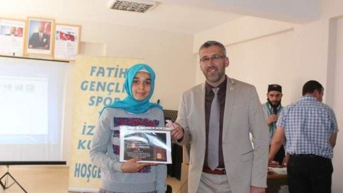 Sarıcakaya'da Ufka Yolculuk Hadis Yarışması