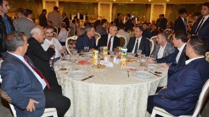 Bakan Özhaseki, Pursaklar'da Sahur Programına Katıldı
