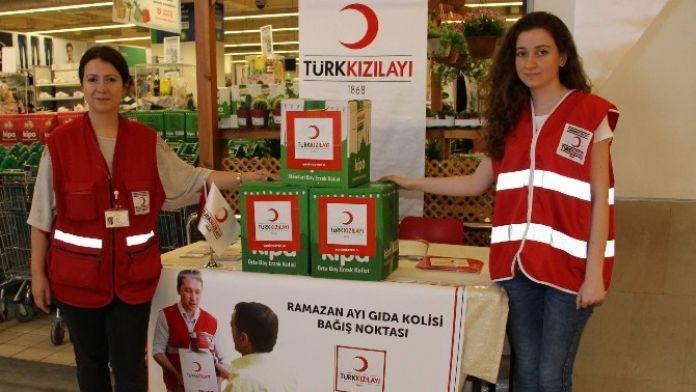 Kızılay'dan Ramazan Kolisi Yardımı