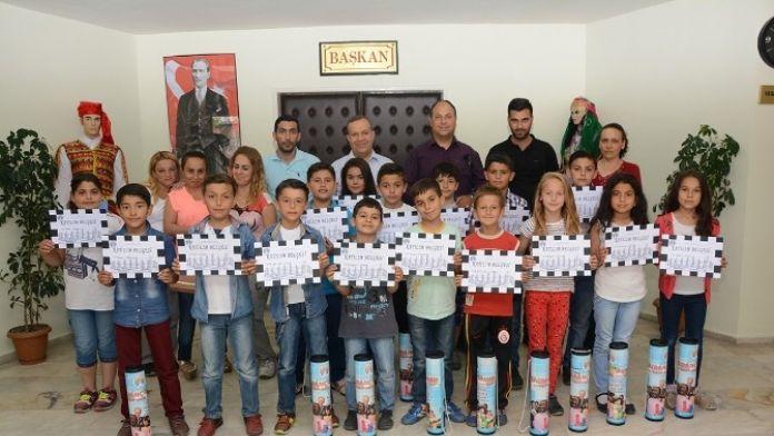 Dinar Belediyesinin Açtığı Satranç Kursu Sona Erdi