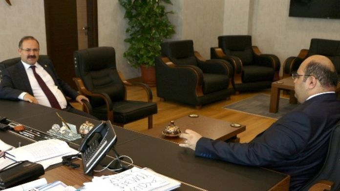 Milletvekili Orhan Deligöz'den Başkan Orhan'a Ziyaret