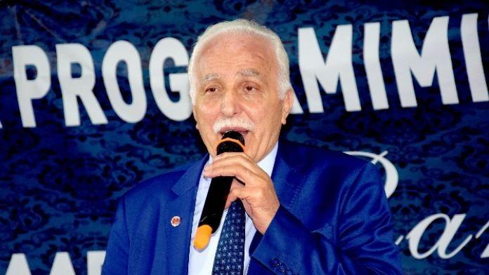 SP Genel Başkanı Kamalak Giresun'da Sahur Programına Katıldı