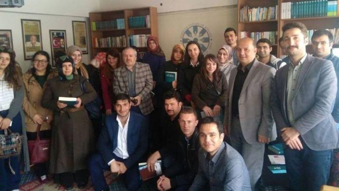 Türkiye Yazarlar Birliği Erzurum Şubesi Aday Öğretmenleri Misafir Etti
