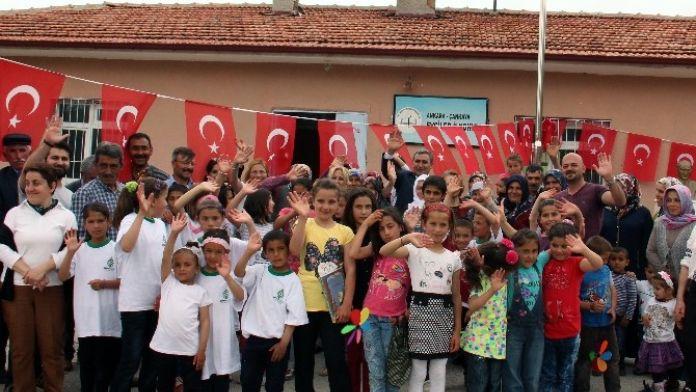 Belediyeden Köy Okullarına Yıl Sonu Şenliği