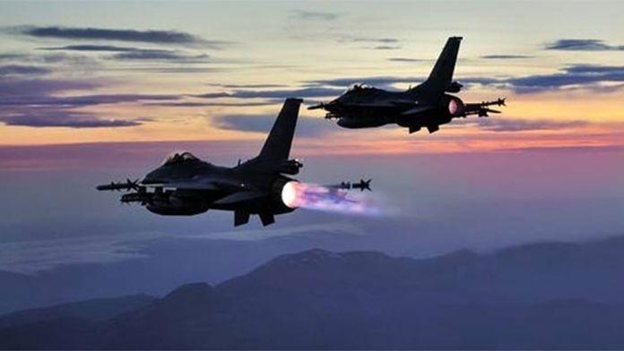 PKK'ya Hava Harekâtı Yapıldı