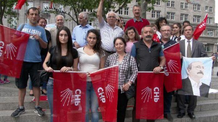 Kılıçdaroğlu'na yönelik saldırılar Köln'de protesto edildi