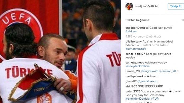 Sneijder Milliler İçin Ne Söyledi?