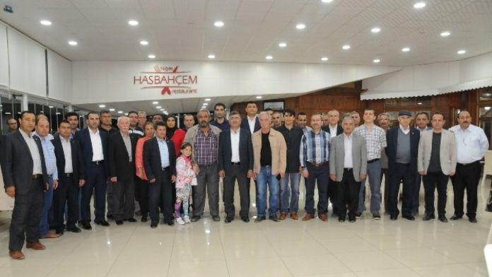 Niğde Belediye Başkan Akdoğan Mahalle Muhtarlarıyla İftar Sofrasında Bir Araya Geldi