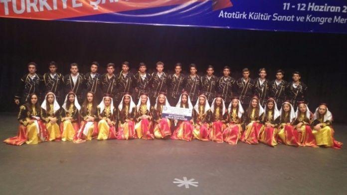 Batı Karadeniz Halkoyunları Gençlik Ve Spor Kulübü Türkiye 5'ncisi Oldu