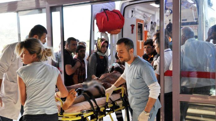 Mayın basan vatandaş ağır yaralandı