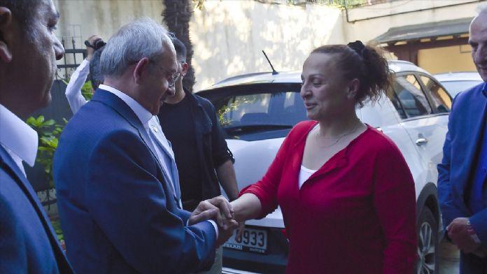 Kılıçdaroğlu'ndan Öztürk'e 'geçmiş olsun' ziyareti
