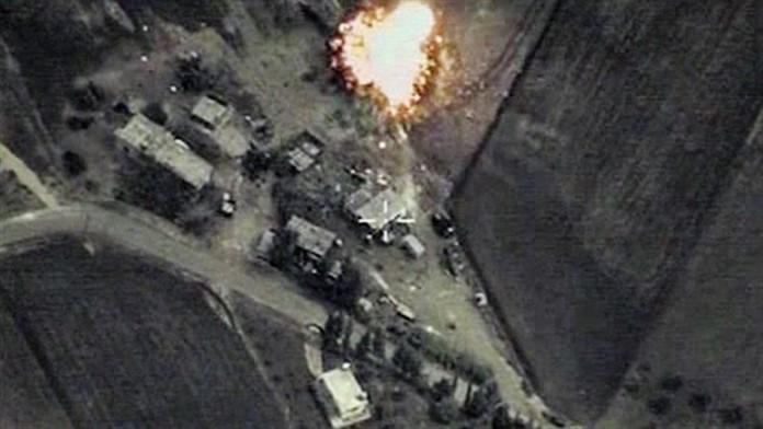 Suriye'deki IŞİD hedeflerine Fırtına obüsleri atış yapıldı, koalisyon uçakları hava harekatı düzenledi