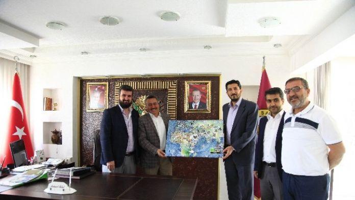 Başkan Tutal'a Anlamlı Ziyaret