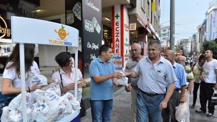 Muratpaşa Belediyesi'nden İftara Yetişemeyene Kumanya