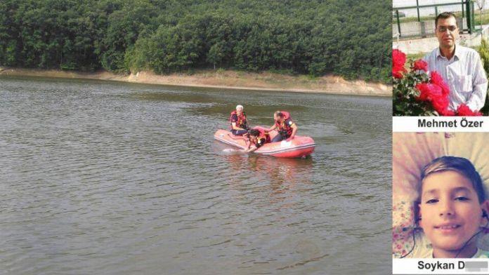 Biri çocuk 2 kişi gölette boğuldu