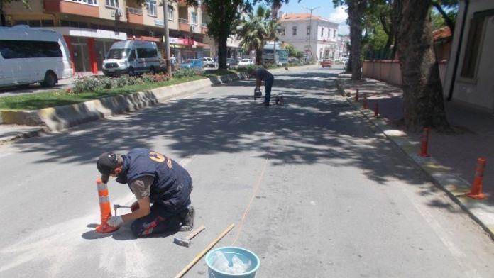 Gelibolu'da Yol Güvenliği Çalışmaları