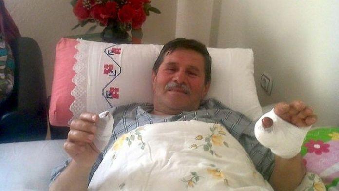 Spiral Makinesine Elini Kaptıran İşçi Yaralandı