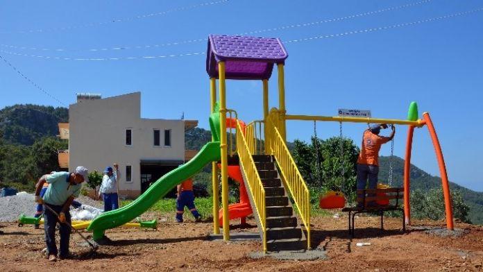 Büyükşehir'den Alanya'ya Çocuk Parkı