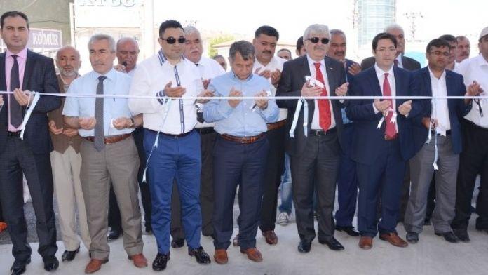 Aksaray'da Modern Kapalı Salı Pazarı Hizmete Açıldı