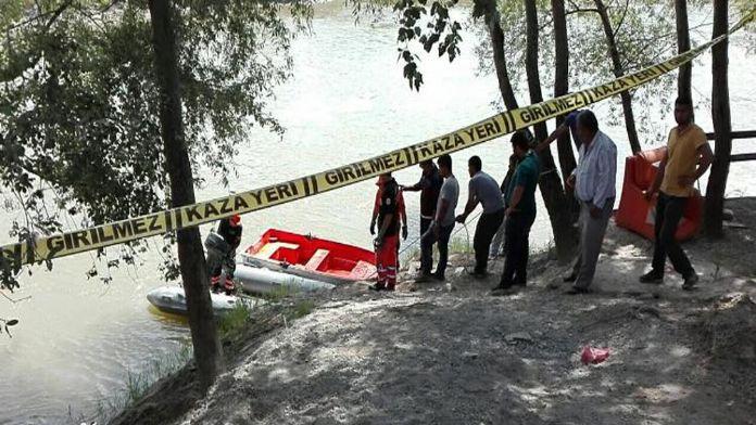 Nehre düşen küçük çocuğun cansız bedenine ulaşıldı