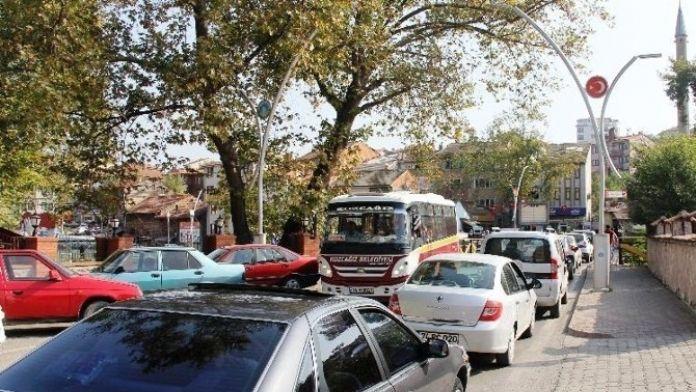 Bartın'da Araç Sayısı 46 Bin 128'e Yükseldi