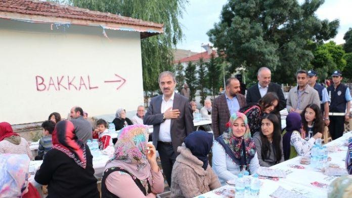 Çankırı'da Her Mahalleye İftar Sofrası Kuruluyor