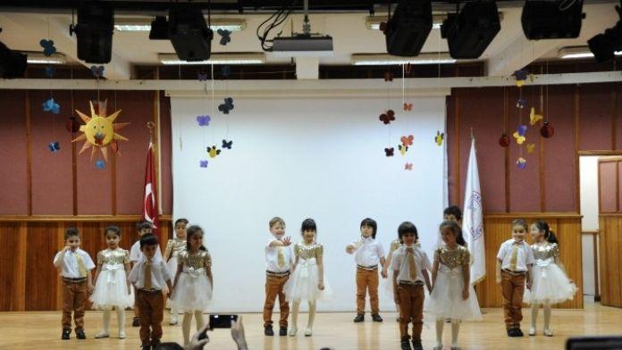 BEÜ Okul Öncesi Eğitim Merkezinden Renkli Yılsonu Gösterisi
