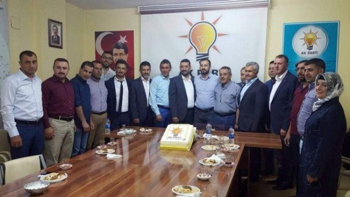 Tanrıver Ve Yönetim Kurulu Üyelerinden AK Parti Avanos Teşkilatı'na Hayırlı Olsun Ziyareti