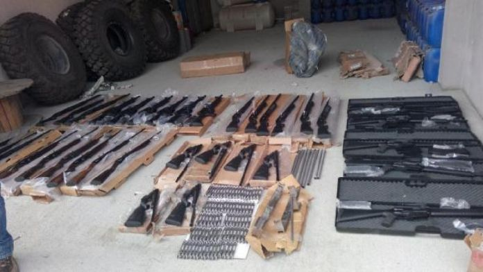 Batman'da kaçak silah operasyonu: 2 tutuklama