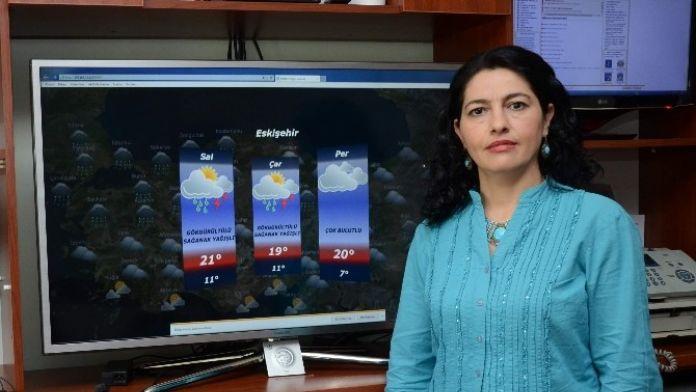 Eskişehir'de Salı Günü Şiddetli Yağış Ve Rüzgar Beklentisi