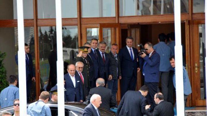 Cumhurbaşkanı Erdoğan Ankara'ya hareket etti