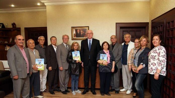 CHP Eskişehir İl Milli Eğitim Komisyonu'ndan Başkan Kurt'a Ziyaret