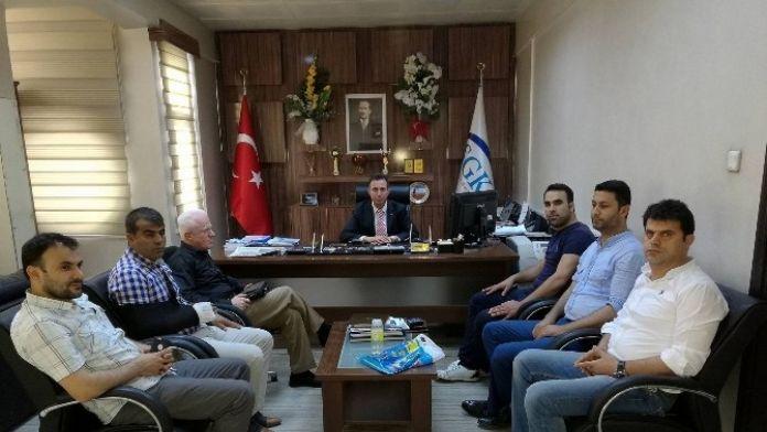 Sason Arap-der, SGK İl Müdürünü Ziyaret Etti