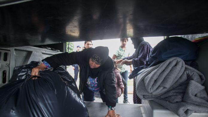Yunanistan Sınırında  Hareketli Dakikalar!