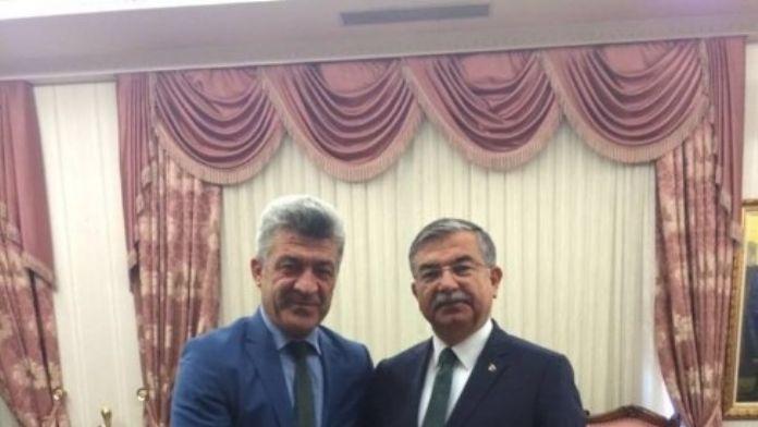 Başkan Yiğit Milli Eğitim Bakanını Ziyaret Etti