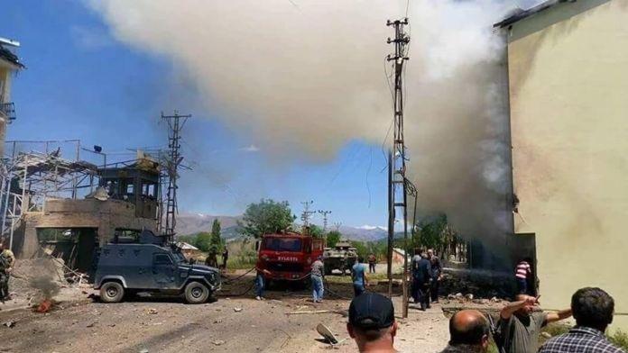 Hainler sivilleri de hedaf aldı: 9 yaralı