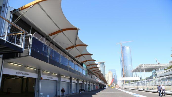 Azerbaycan Formula 1'e hazırlanıyor