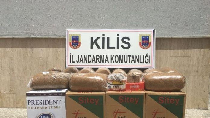 Kilis'te Gümrük Kaçağı Eşya Operasyonu