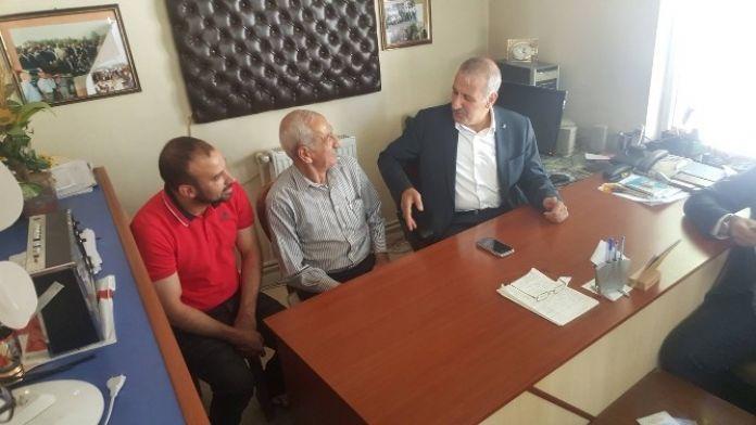 Şahin'den Muhtarlara Ziyaret